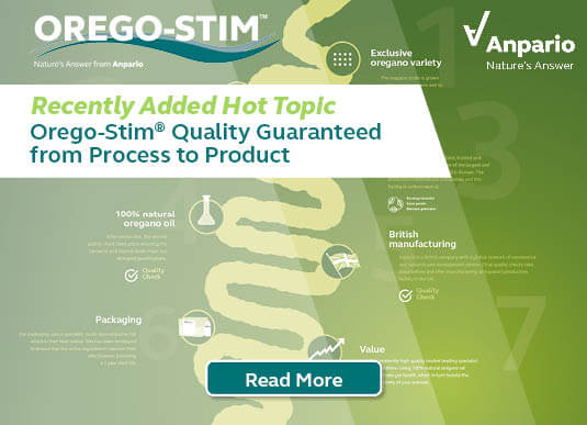 Orego-Stim® Quality Guaranteed from Process to Product