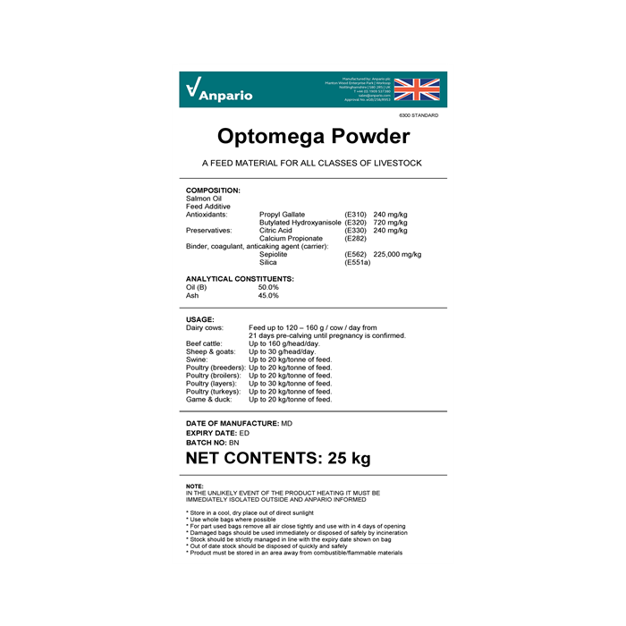 Optomega Powder